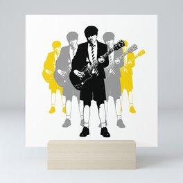 Taking the Lead - white Mini Art Print