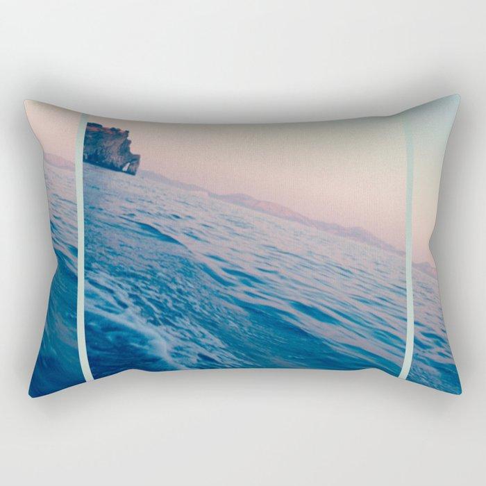 OCEAN BREEZE #1 Rectangular Pillow