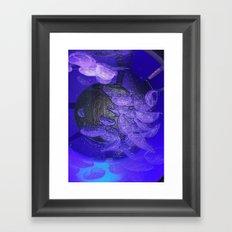 Acrylic Jelly Fish Framed Art Print