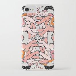 Pink Elephants iPhone Case