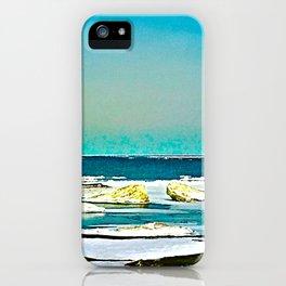 Lake Huron Winter iPhone Case