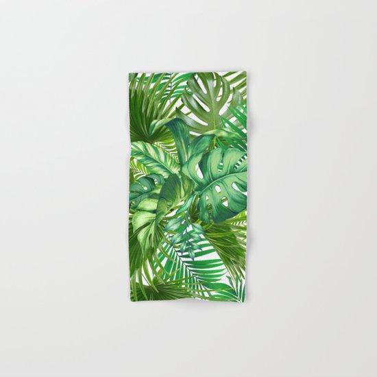green tropic Hand & Bath Towel