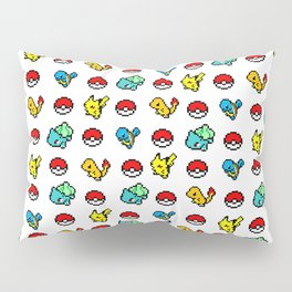 Starter Pocket Monsters Pillow Sham