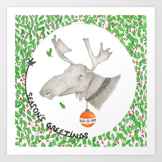 CHRISTMAS1 Art Print