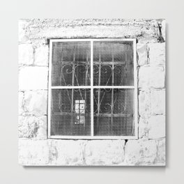 Old City Window Metal Print