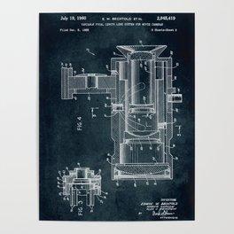 1955 Movie cameras patent art Poster
