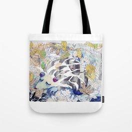 Sleeping Creature Tote Bag