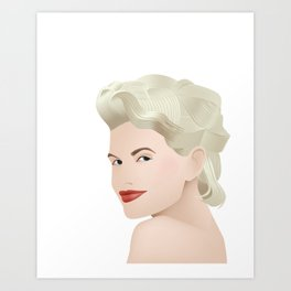 Chloe Jasmine Art Print