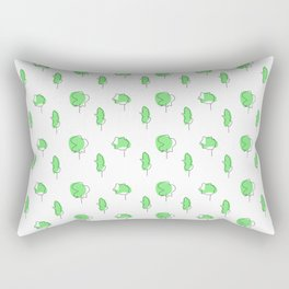 little tress Rectangular Pillow