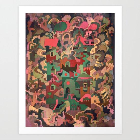 Vershina Art Print