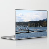 vancouver Laptop & iPad Skins featuring Vancouver Harbour by RMK Creative