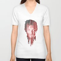 daryl V-neck T-shirts featuring Daryl by mobokeh