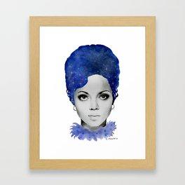 Diana Ross Framed Art Print