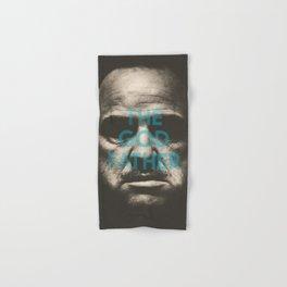 The Godfather, minimalist movie poster, Marlon Brando, Al Pacino, Francis Ford Coppola gangster film Hand & Bath Towel