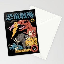 Dino Sentai Stationery Cards
