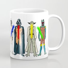 Naughty Lightsabers - Light Coffee Mug