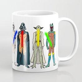 Naughty Lightsabers - Light Coffee Mug