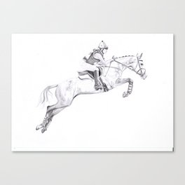 Horse commission  Canvas Print
