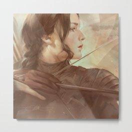 MEME 018 Katniss Everdeen Metal Print