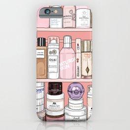 Pink Shelfie 2 iPhone Case