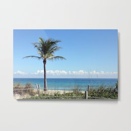 """View From the Beach"" Metal Print"