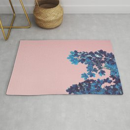 Maple branches Rug