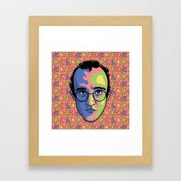 Haring Framed Art Print