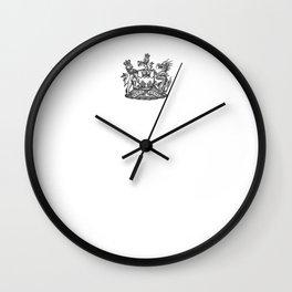 Coat of arms of Hongkong Wall Clock
