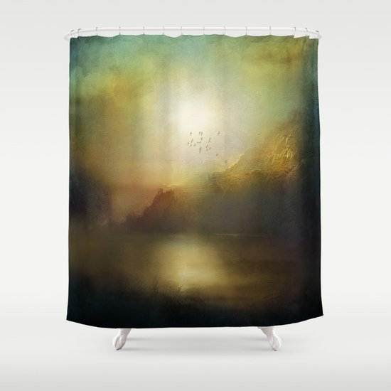 Poesia Shower Curtain