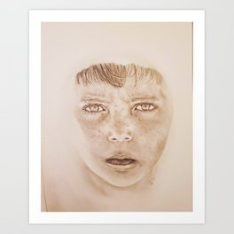 Don't you worry child Art Print