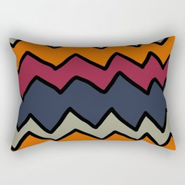 Ziggy Zaggy Rectangular Pillow