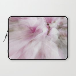 Pink Magnolia Swirl Laptop Sleeve