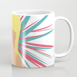 Portrait of a Surprised Blonde Coffee Mug