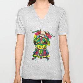 Warrior God Unisex V-Neck