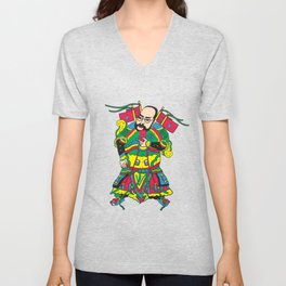 Warrior God Unisex V-Neck