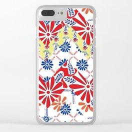 Zig Zag Vallarta Clear iPhone Case