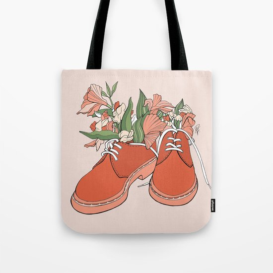 Spring In Your Step Tote Bag