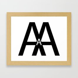 Type A Personality Framed Art Print