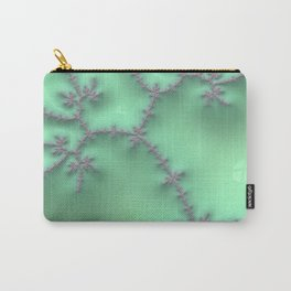 Mint and Lavender Carry-All Pouch