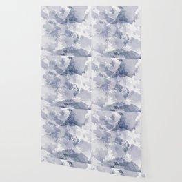 BLUE WATERCOLOR #minimal #marble #design #kirovair #decor #buyart #blue #design #elements Wallpaper