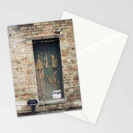 Ageing door Stationery Cards