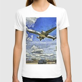 Airliner Vincent Van Gogh T-shirt