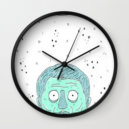 Zombies Ate My Cheeseburgers  Wall Clock