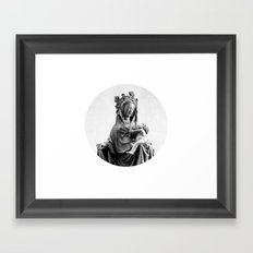 Virgin Mary Framed Art Print