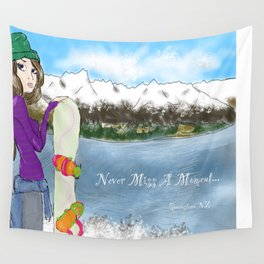 Never Miss A Moment Wall Tapestry