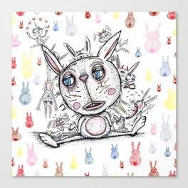 sad bunny Canvas Print
