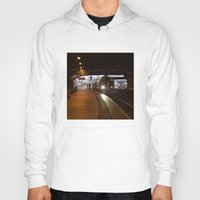 train Hoodies featuring Train by RMK Creative