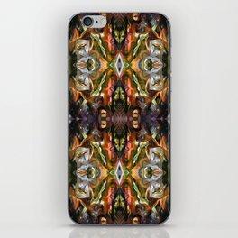 Ornamental Pattern in warm autumn colours iPhone Skin