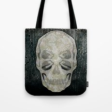 Twilight 4 Eyes Skull Tote Bag