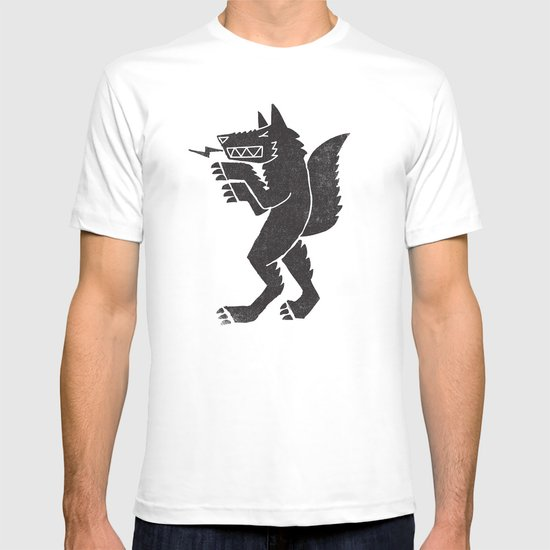 WEREWOLF, MAN WOLF T-shirt